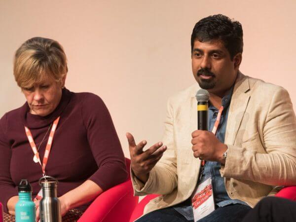 Aji Issac Mathew, Founder of DMU at SET Squarded Workshops